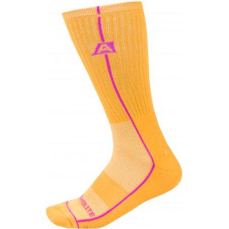 Ponožky ALPINE PRO BANFF 2 USCZ039 ORANŽOVÁ