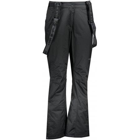 Dámské lyžařské kalhoty ALPINE PRO ANIKA 2 LPAS450 ČERNÁ