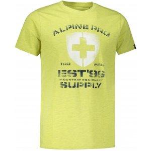 Pánské triko ALPINE PRO DRACH MTSS564 ZELENÁ