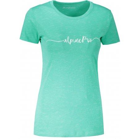 Dámské triko ALPINE PRO ROZENA 6 LTST591 ZELENÁ