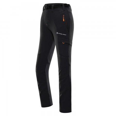Dětské softshellové kalhoty ALPINE PRO DANO KPAT231 TMAVĚ ŠEDÁ
