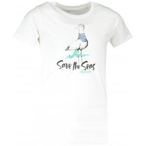 Dětské triko ALPINE PRO EKOSO KTST330 BÍLÁ