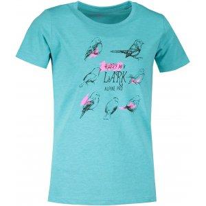 Dětské triko ALPINE PRO BRANTO 4 KTST309 SVĚTLE MODRÁ