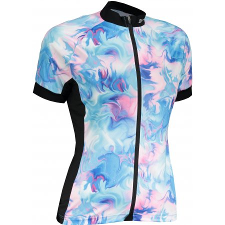Dámský cyklistický dres ALPINE PRO MARKA 2 LTST723 MODRÁ