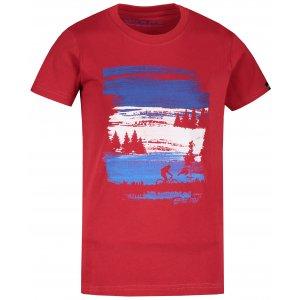 Dětské triko ALPINE PRO ENELO KTST358 ČERVENÁ