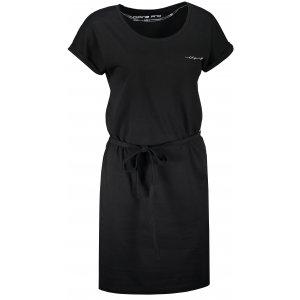 Dámské šaty ALPINE PRO LADA LSKT345 ČERNÁ