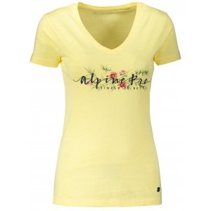 Dámské triko ALPINE PRO KERPA 5 LTST719 ŽLUTÁ