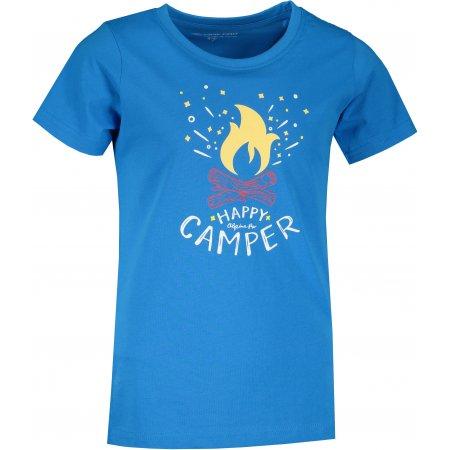 Dětské triko ALPINE PRO MATTERO 3 KTST313 MODRÁ