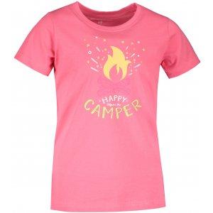 Dětské triko ALPINE PRO MATTERO 3 KTST313 SVĚTLE RŮŽOVÁ