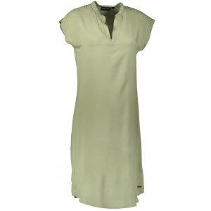 Dámské šaty ALPINE PRO BERLIA LSKT287 ZELENÁ