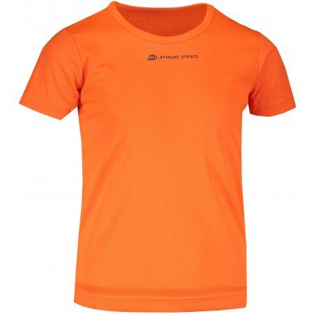 Dětské funkční triko ALPINE PRO HOTO 2 KTST162 ORANŽOVÁ