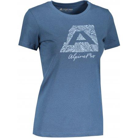 Dámské triko ALPINE PRO UNEGA 8 LTST712 PETROLEJOVÁ