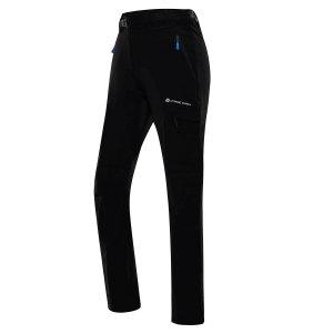 Pánské softshellové kalhoty ALPINE PRO DAN MPAT496 ČERNÁ