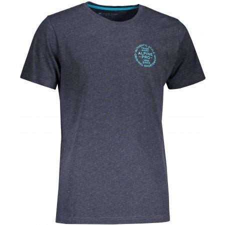 Pánské triko ALPINE PRO ROZEN MTST473 TMAVĚ MODRÁ