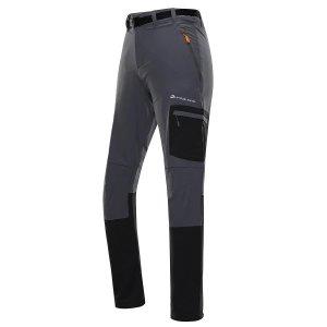 Pánské softshellové kalhoty ALPINE PRO DAN MPAT496 ŠEDÁ