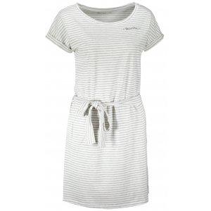 Dámské šaty ALPINE PRO ASSIA LSKT350 SVĚTLE ŠEDÁ