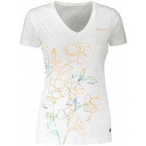 Dámské triko ALPINE PRO KERPA 5 LTST719 BÍLÁ