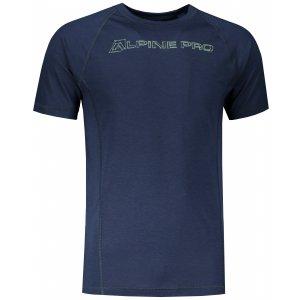Pánské funkční triko ALPINE PRO MERIN 3 MTST476 MODRÁ