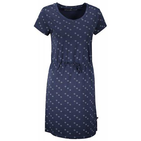 Dámské šaty ALPINE PRO LODICA LSKT342 TMAVĚ MODRÁ