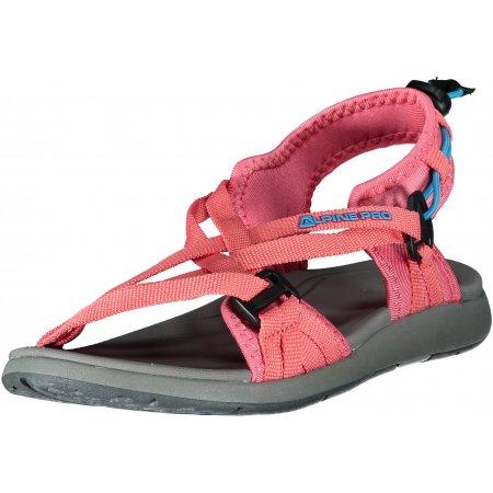 Dámské sandále ALPINE PRO CHESTRA LBTT300 RŮŽOVÁ