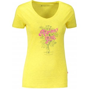 Dámské triko ALPINE PRO LAILA 4 LTST713 ŽLUTÁ