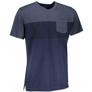 Pánské triko ALPINE PRO NILAV MTST582 TMAVĚ MODRÁ