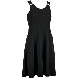 Dámské šaty ALPINE PRO MOPRA LSKT339 ČERNÁ