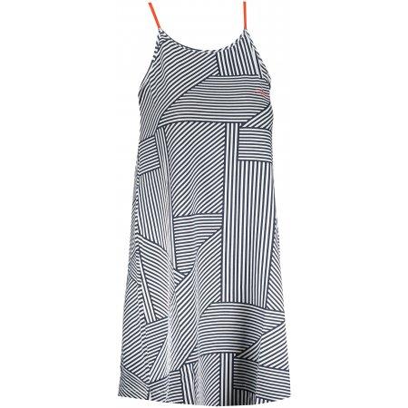 Dámské šaty ALPINE PRO MARRKA LSKT290 MODRÁ PRUHY