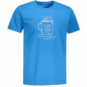 Pánské triko ALPINE PRO UNEG 9 MTST578 SVĚTLE MODRÁ