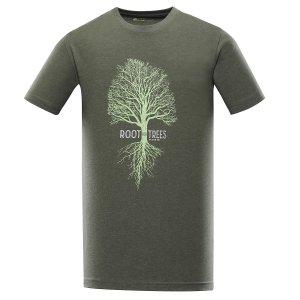 Pánské triko ALPINE PRO EKOS MTST553 ŠEDÁ