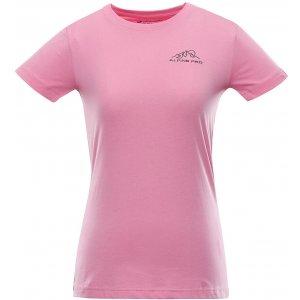 Dámské triko ALPINE PRO UNEGA 8 LTST712 RŮŽOVÁ