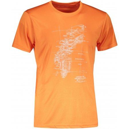 Pánské funkční triko ALPINE PRO QUART 2 MTST579 ORANŽOVÁ