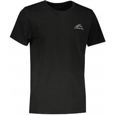Pánské triko ALPINE PRO UNEG 9 MTST578 ČERNÁ