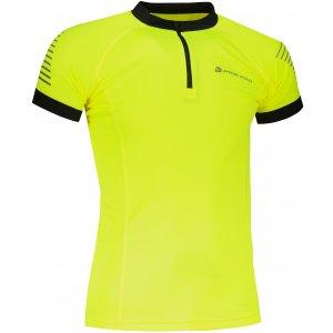 Pánské funkční triko ALPINE PRO SORAN MTST351 SVÍTIVĚ ZELENÁ