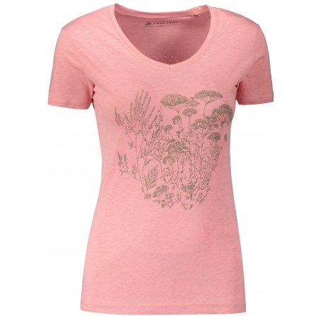 Dámské triko ALPINE PRO LAILA 4 LTST713 RŮŽOVÁ
