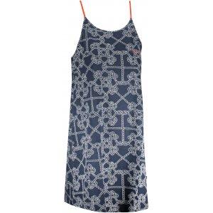 Dámské šaty ALPINE PRO MARRKA LSKT290 TMAVĚ MODRÁ