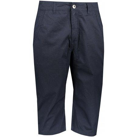 Pánské 3/4 kalhoty ALPINE PRO MACR MPAT423 TMAVĚ MODRÁ