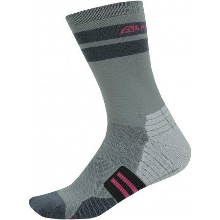 Ponožky ALPINE PRO ADRON 3 USCT051 ŠEDÁ