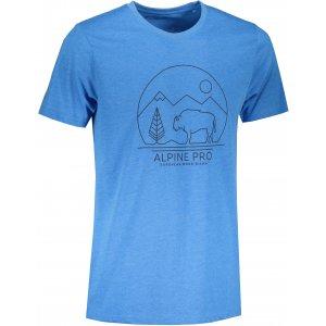 Pánské triko ALPINE PRO ABIC 9 MTST577 SVĚTLE MODRÁ