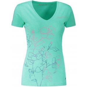 Dámské triko ALPINE PRO KERPA 5 LTST719 ZELENÁ