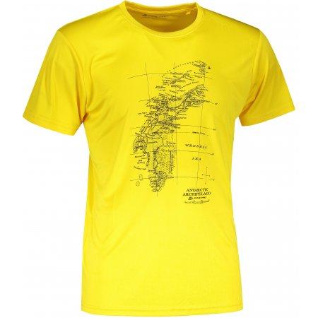 Pánské funkční triko ALPINE PRO QUART 2 MTST579 ŽLUTÁ
