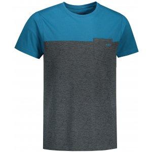Pánské triko ALPINE PRO PRAVIN MTST604 TMAVĚ MODRÁ