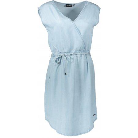 Dámské šaty ALPINE PRO LANA LSKT286 SVĚTLE MODRÁ