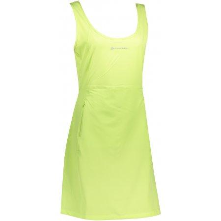 Dámské sportovní šaty ALPINE PRO ELANDA 4 LSKT285 ZELENÁ