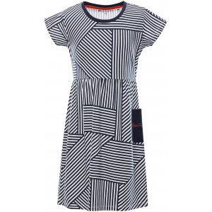 Dívčí šaty ALPINE PRO ZENNO KSKT083 MODRÁ