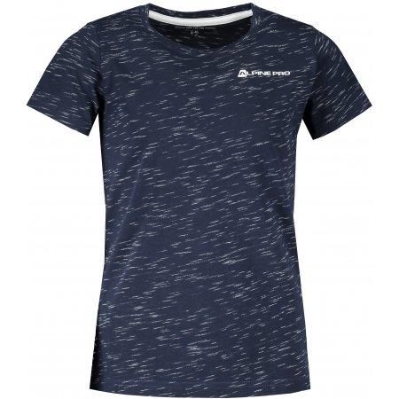 Dětské triko ALPINE PRO GANGO 3 KTST317 TMAVĚ MODRÁ
