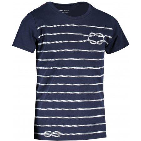 Dětské triko ALPINE PRO MARINO 2 KTST316 TMAVĚ MODRÁ