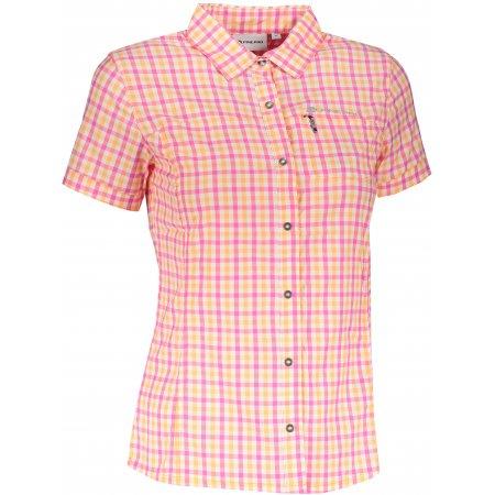 Dámská košile ALPINE PRO LURINA 4 LSHT021 RŮŽOVÁ/ORANŽOVÁ