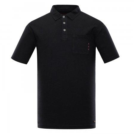 Pánské triko ALPINE PRO ERIN MTST521 ČERNÁ
