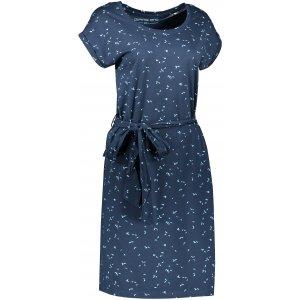 Dámské šaty ALPINE PRO XEBA LSKT338 TMAVĚ MODRÁ